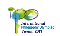 Logo of the International Philosophy Olympiad 2011